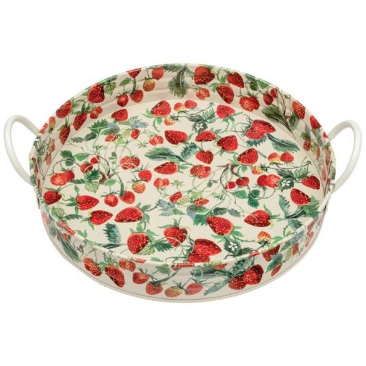 Strawberries Large Handle Tray