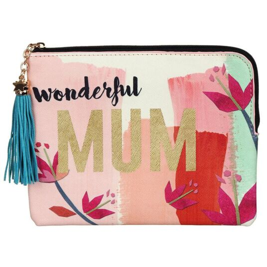 "Ta-Daa! ""Wonderful Mum"" Make-up Bag"