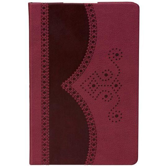 A5 Oxblood Brogue Notebook