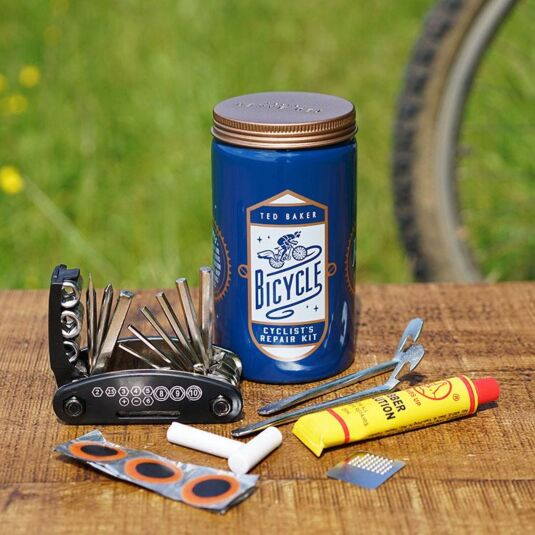 Space & Time Bike Repair Kit In Tin