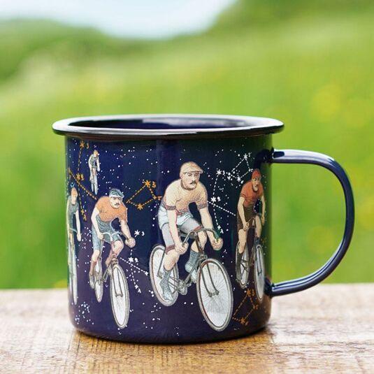 Space & Time Enamel Mug