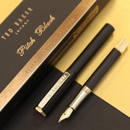 Black Onyx Premium Fountain Pen