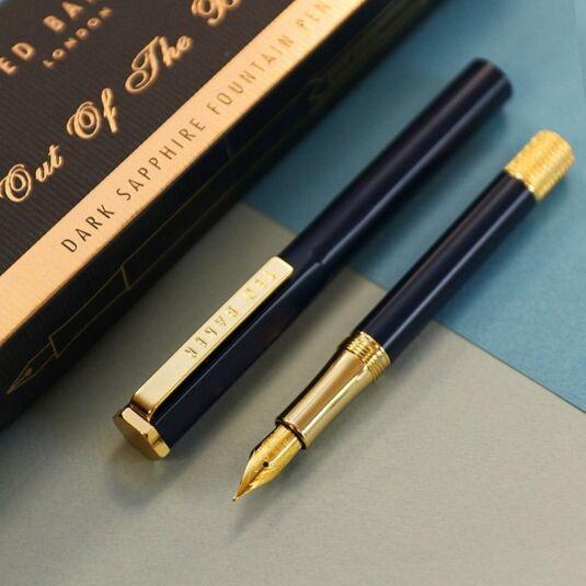 Dark Sapphire Premium Fountain Pen
