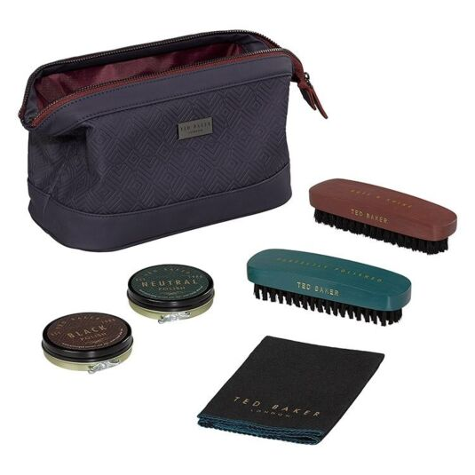 Blue Cadet Shoe Shine Kit