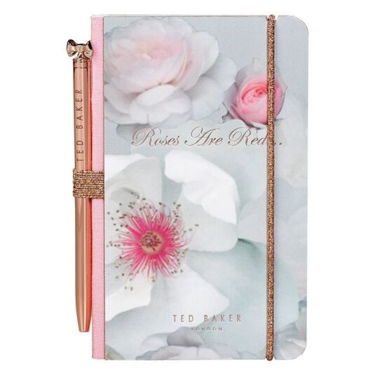Chelsea Border A7 Mini-Notebook with pen
