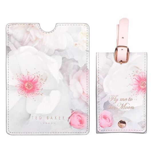Chelsea Border Luggage Tag & Passport Set