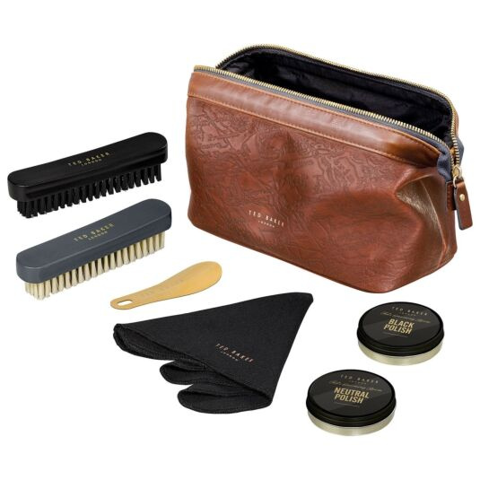 Ted's Grooming Room Deluxe Shoe Shine Kit