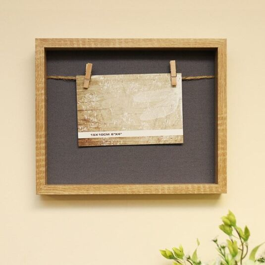 "8 x 10"" Single String Photo Holder"