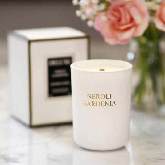 Deluxe Neroli Gardenia Fragranced Jar Candle
