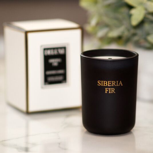Deluxe Siberia Fir Fragranced Jar Candle