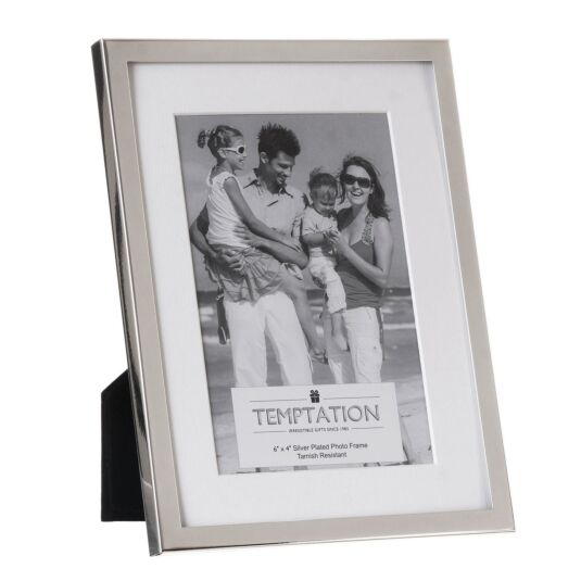 Silver-Plated Mounted Frame 6x4