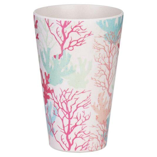Bamboo Fibre Coral Cup