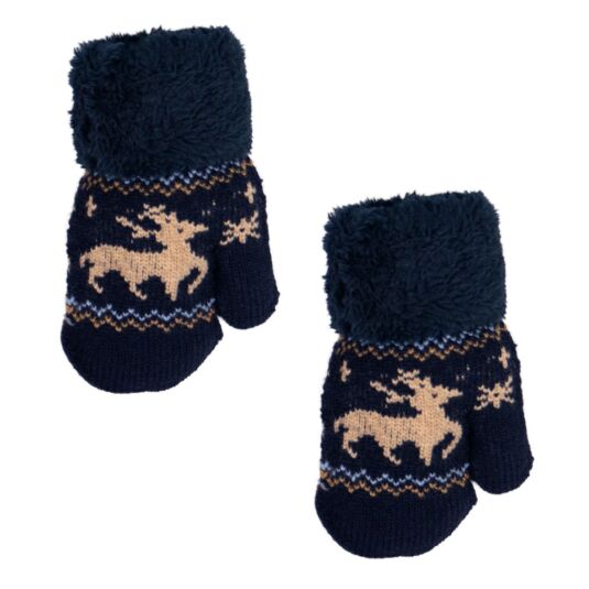 Blue Children's Mittens