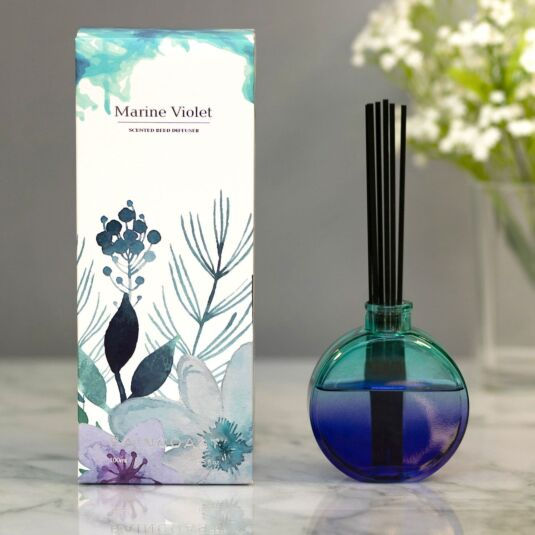 Raincoast 'Marine Violet' 100ml Reed Diffuser