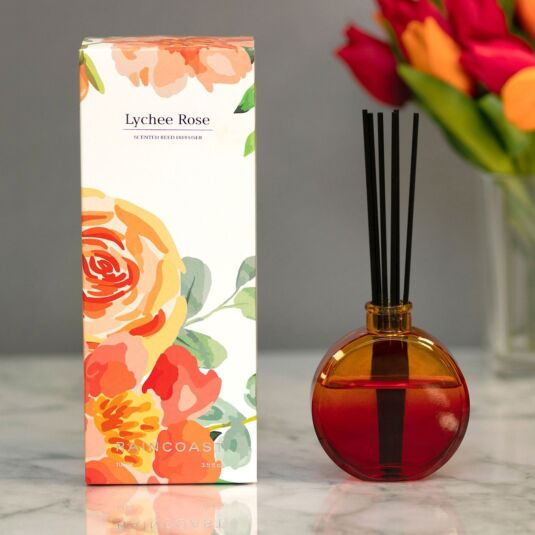 Raincoast 'Lychee Rose' 100ml Reed Diffuser