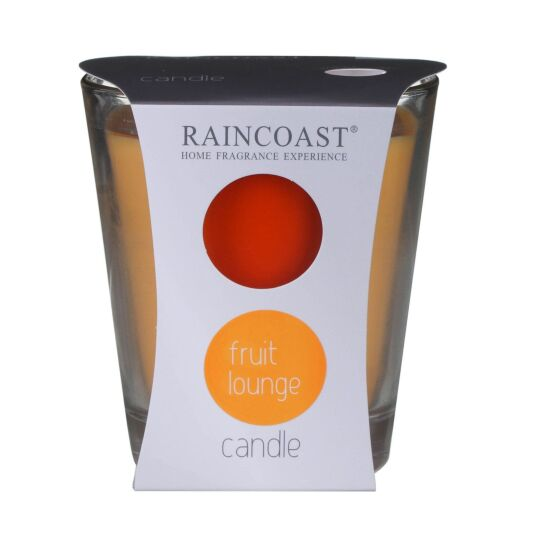 Raincoast Fruit Lounge Scented Glass Jar Candle