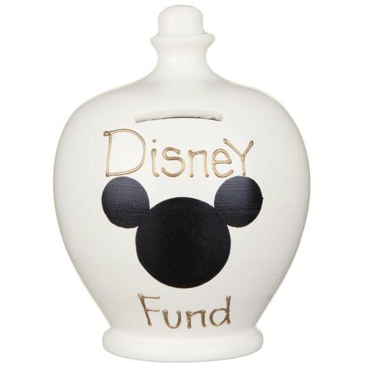 Cream Disney Fund Money Pot
