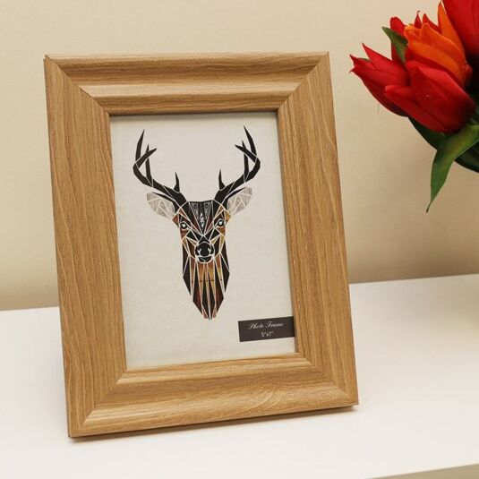 7x5 Bevelled Edge Wooden Frame