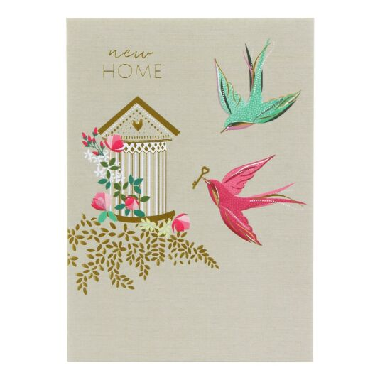 New Home Birds Card