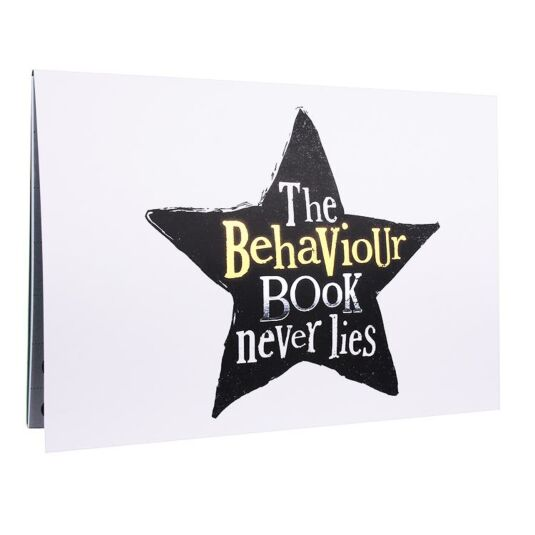 Behaviour Book With Reward Stickers