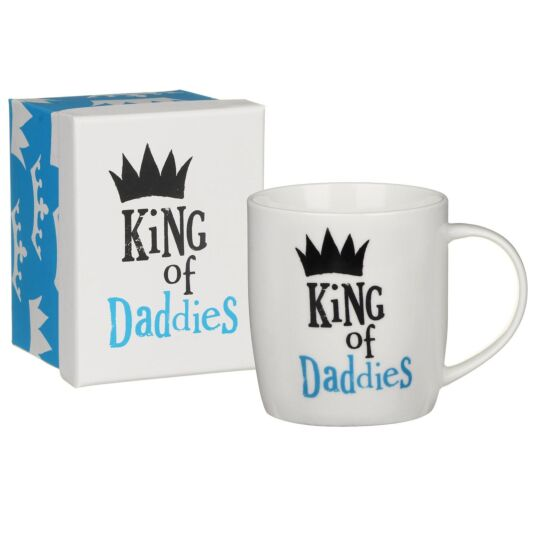 'King of Daddies' Boxed Mug