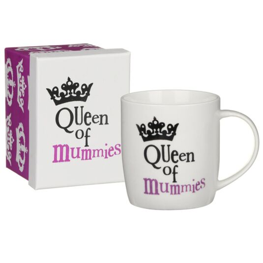 'Queen of Mummies' Boxed Mug