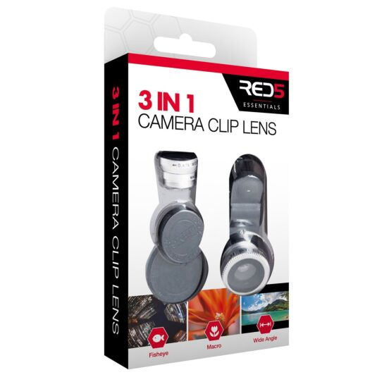 Red5 3-in-1 Mobile Camera Clip Lens Kit