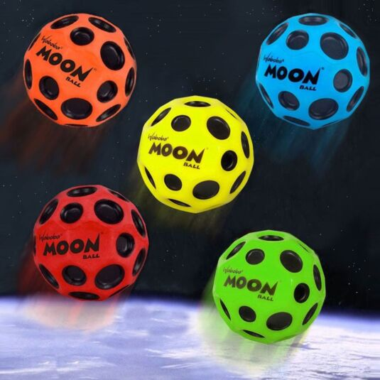 Waboba Bouncing Moon Ball - Choose from 5 colours