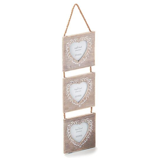 Triple Heart Hanging Frames