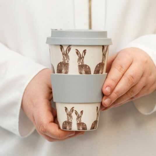 Hare Bamboo Travel Mug