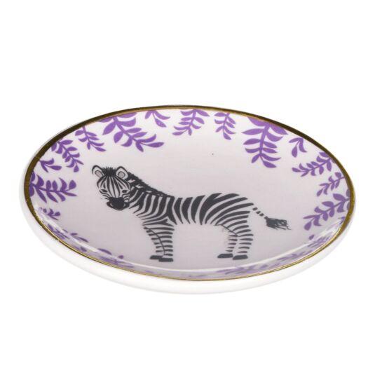 Zebra Trinket Dish