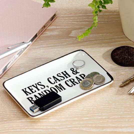 'Keys, Cash & Random Crap' Dish
