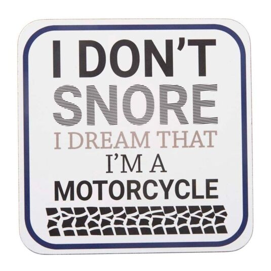 'I Don't Snore' Coaster