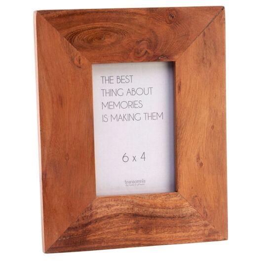 Acacia Wood 6x4 Photo Frame