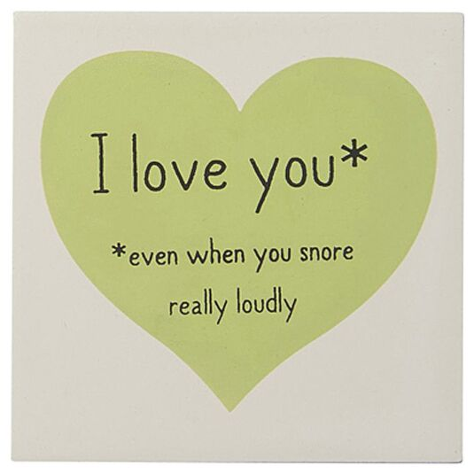 I Love You – Snore Magnet