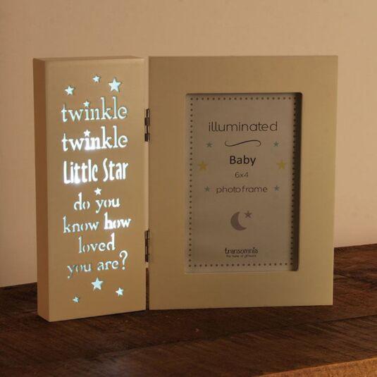 Illuminated Baby Photo Frame