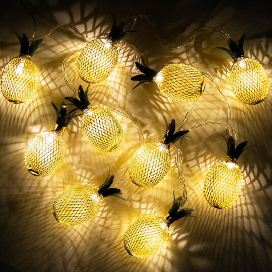LED Pineapple String Light Transomnia