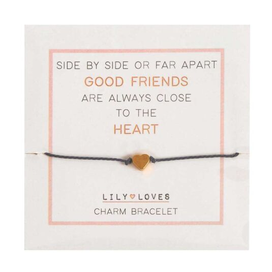 Lily Loves 'Close to the Heart' Charm Bracelet