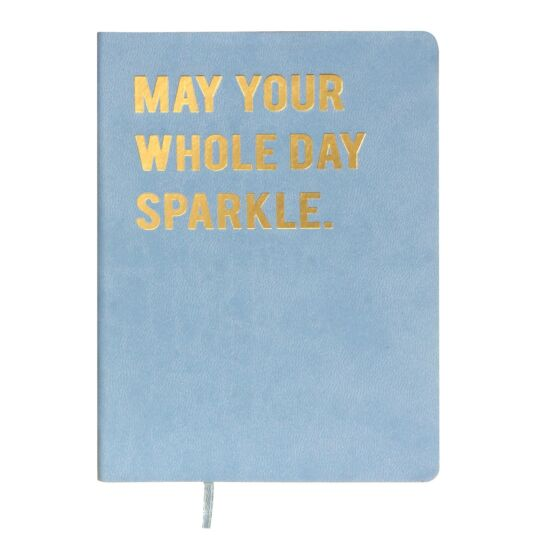 Cloud Nine 'May Your Whole Day' A6 Notebook