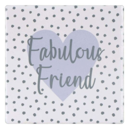 Ophelia 'Fabulous Friend' Coaster