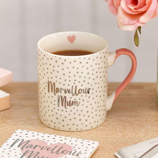 Ophelia 'Marvellous Mum' Mug