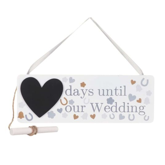 Wedding Countdown Sign