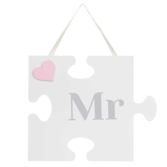 'Mr' Jigsaw Sign