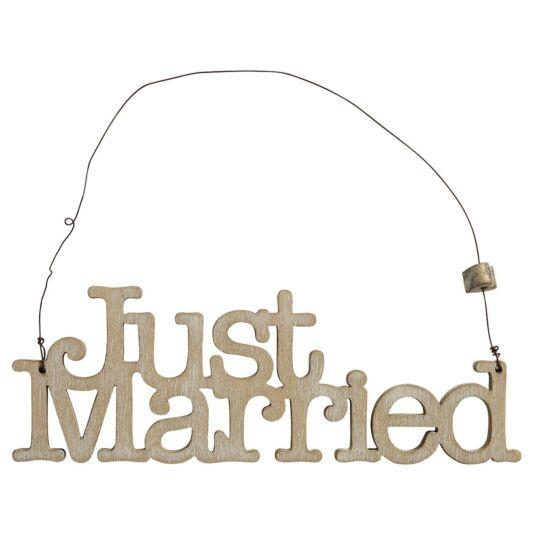 'Just Married' Small Sign