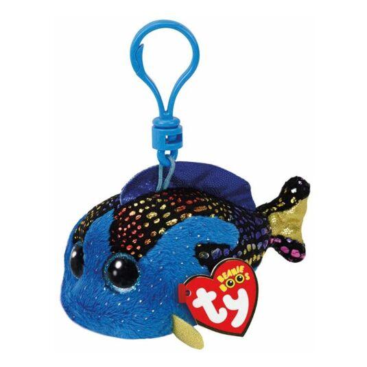 Aqua Beanie Boo Key Clip