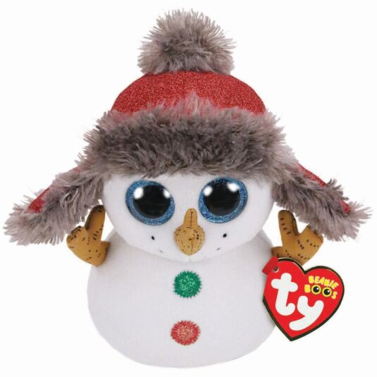 "Buttons – 6"" Christmas Beanie Boo"