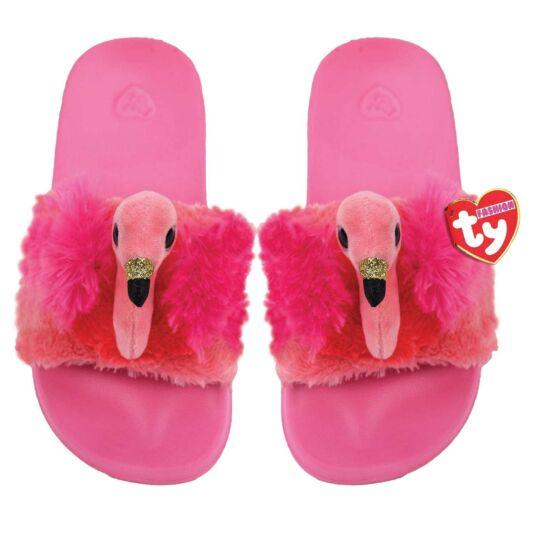 Gilda Pink Beanie Boo Small Slides