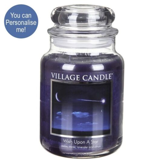 Wish Upon a Star Large 26oz Jar Candle