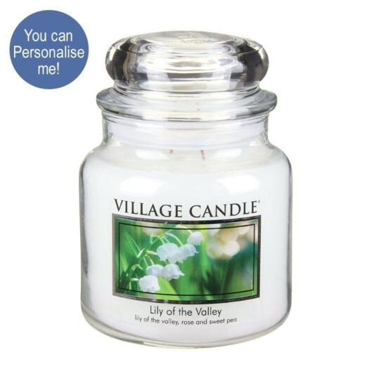 Lily of the Valley Medium 16oz Jar Candle