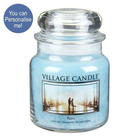 Rain Medium 16oz Jar Candle